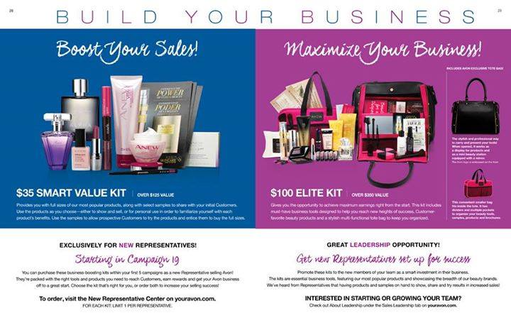 New Avon Starter Kits!