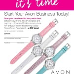 Free Watch when you start Avon! (Limited Time Only)
