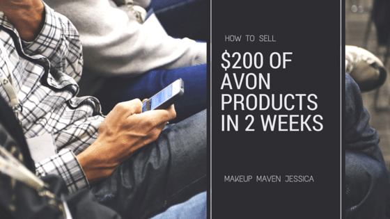 how to sell Avon products