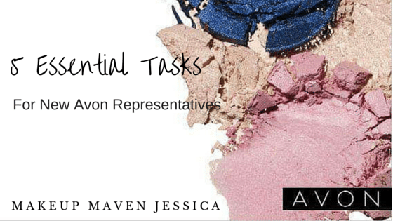 5 Essential Tasks for new Avon Representatives