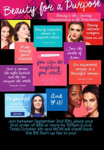 Join Avon for FREE