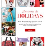 Let the Disney gang make this holiday season extra special! – Expired