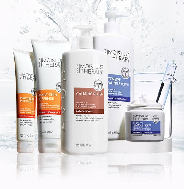 Avon Moisture Therapy Faves