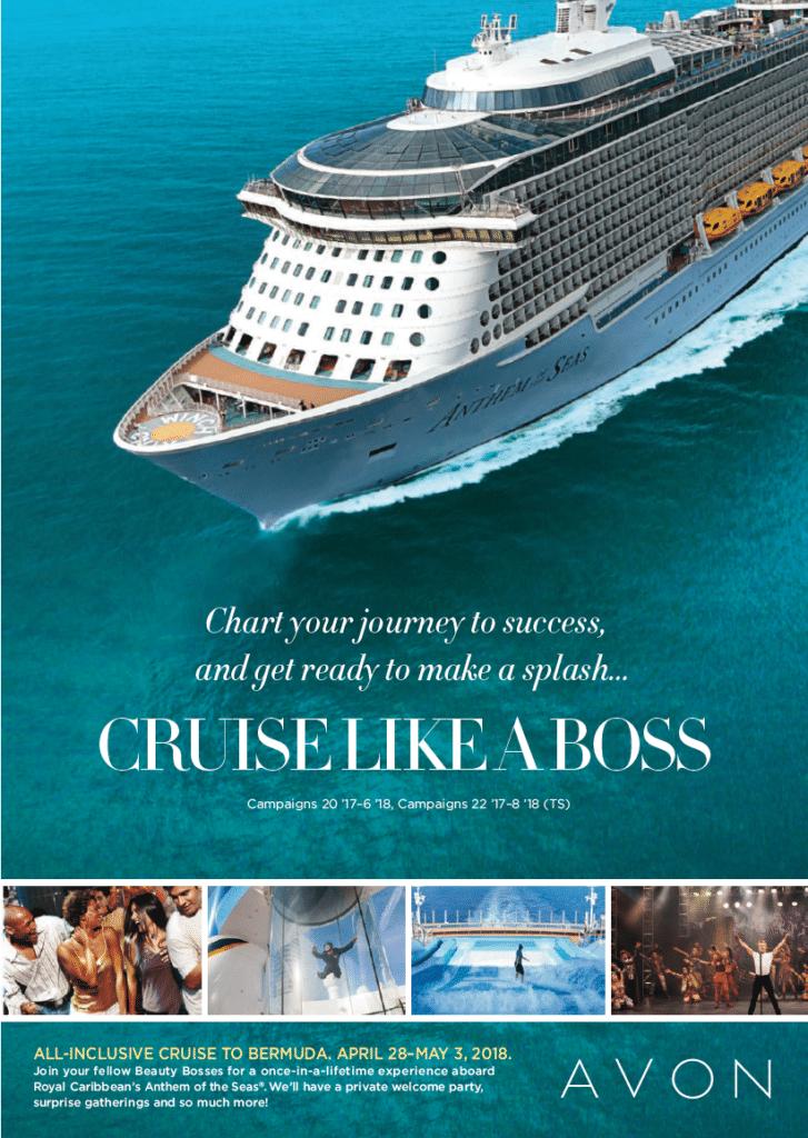 Avon Cruise Like a Boss