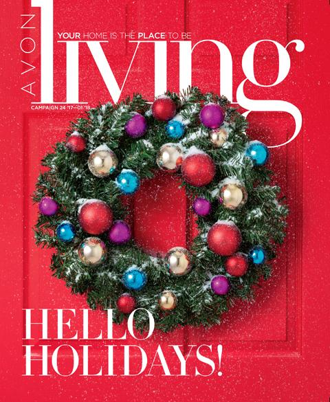 Avon Living Winter Brochure Campaign 25, 2017