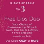 12 Days of Deals – Day 3 – Free Lips Duo – Your Choice