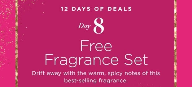 12 Days of Deals - Day 8 - Free Avon Far Away Set