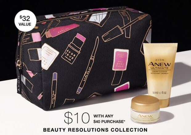 Exclusive Avon Cosmetics Bag - A Box
