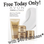 Free Anew Ultimate Skin Care Trial Kit with $40 Purchase – Today Only