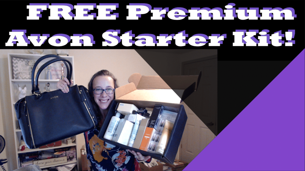 Hurry! FREE Premium Avon Starter Kit LIMITED TIME ONLY!