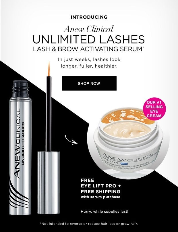 29afcf7e67c So, Julie was up on stage all aglow and she shared her experience with Avon's  Anew Clinical Unlimited Lashes Serum. Julie told us about how she never had  ...
