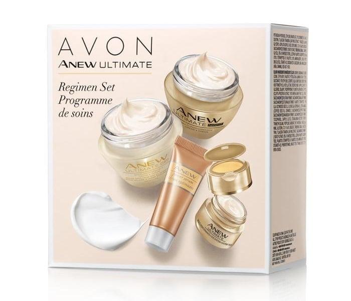 Top Avon Products - Anew Ultimate Regimen Set Programme de soins